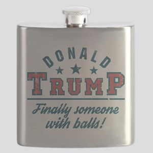Donald Trump Finally someone with balls! Flask