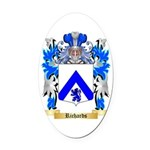 Richards Oval Car Magnet