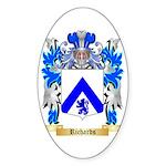 Richards Sticker (Oval 50 pk)