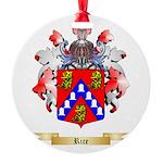 Rice Round Ornament