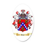 Rice Oval Car Magnet