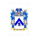Ricards Sticker (Rectangle 50 pk)