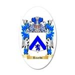 Ricards 20x12 Oval Wall Decal