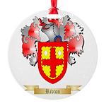Ribton Round Ornament