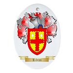 Ribton Oval Ornament