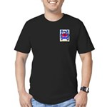 Ribes Men's Fitted T-Shirt (dark)