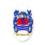 Ribes Oval Car Magnet