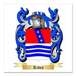 Ribes Square Car Magnet 3