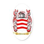 Ribeiro Oval Car Magnet