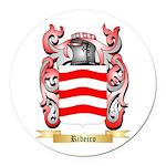 Ribeiro Round Car Magnet