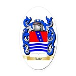 Ribe Oval Car Magnet