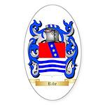 Ribe Sticker (Oval 50 pk)