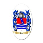 Ribe 20x12 Oval Wall Decal