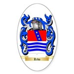 Riba Sticker (Oval 50 pk)