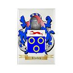 Rhodes Rectangle Magnet (100 pack)