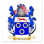 Rhodes Square Car Magnet 3