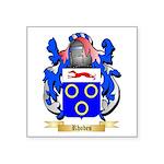 Rhodes Square Sticker 3