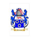Rhodes Sticker (Rectangle 10 pk)