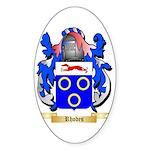 Rhodes Sticker (Oval 10 pk)