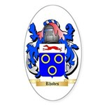 Rhodes Sticker (Oval 50 pk)