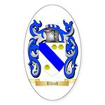 Rhind Sticker (Oval 50 pk)