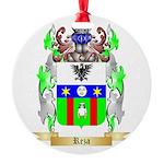 Reza Round Ornament