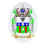 Reza Oval Ornament