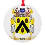 Reys Round Ornament