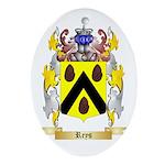 Reys Oval Ornament
