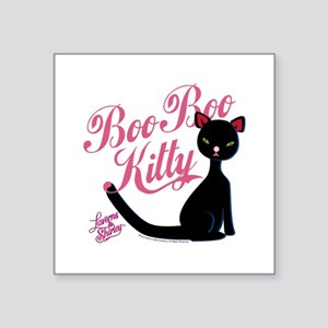 "Laverne and Shirley Boo Boo Square Sticker 3"" x 3"""
