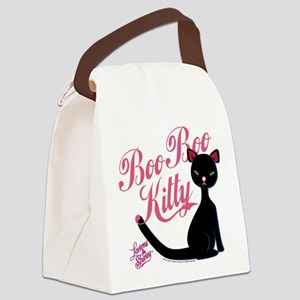 Laverne and Shirley Boo Boo Kitty Canvas Lunch Bag