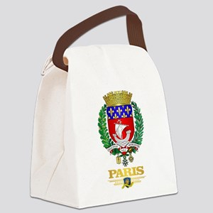 Paris Canvas Lunch Bag