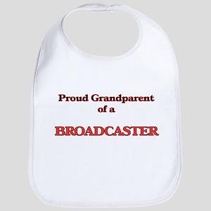 Proud Grandparent of a Broadcaster Bib