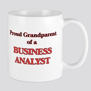 Proud Grandparent of a Business Analyst Mugs