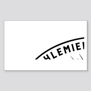 Laverne and Shirley Numbers De Sticker (Rectangle)