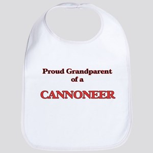 Proud Grandparent of a Cannoneer Bib