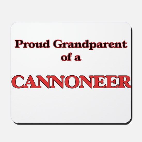 Proud Grandparent of a Cannoneer Mousepad