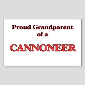 Proud Grandparent of a Cannoneer Sticker