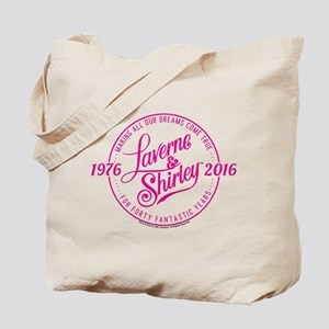 Laverne And Shirley Logo Design Tote Bag