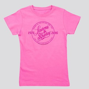 Laverne And Shirley Logo Design Girl's Tee