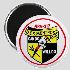 USS Montrose (APA 212) Magnet