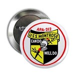 "USS Montrose (APA 212) 2.25"" Button (100 pack)"