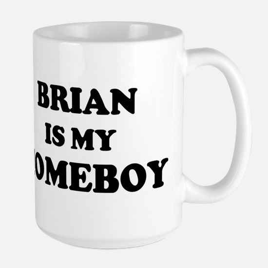 Brian Is My Homeboy Mugs