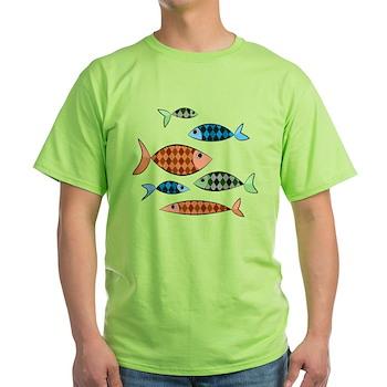 Argyle Fish Light T-Shirt