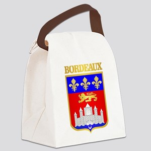 Bordeaux Canvas Lunch Bag