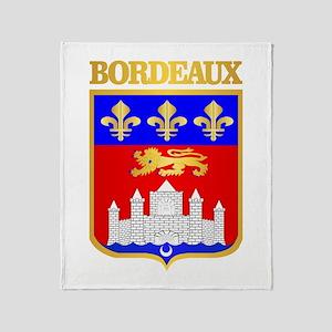Bordeaux Throw Blanket