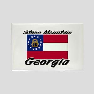 Stone Mountain Georgia Rectangle Magnet