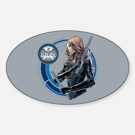 MAOS Mockingbird Sticker (Oval)