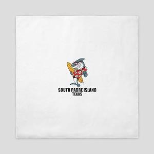 South Padre Island, Texas Queen Duvet