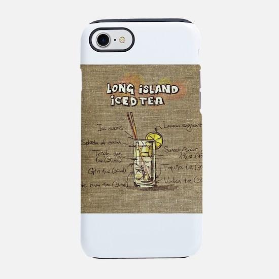 Long Island Iced Tea (Canvas iPhone 8/7 Tough Case